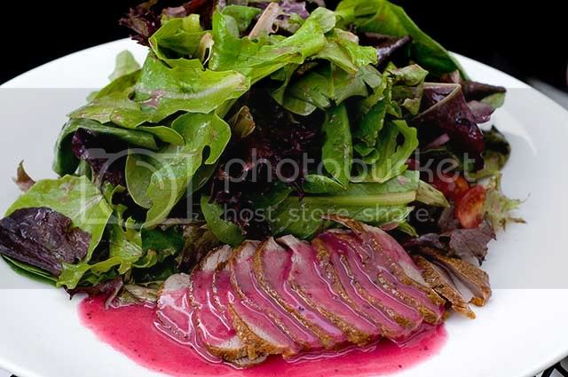Cold Duck Breat Salad