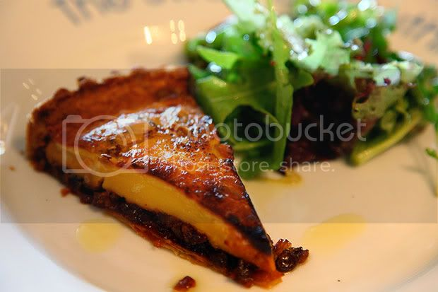 The Swan at Southrop,The Cotswolds,Goats Cheese Tart
