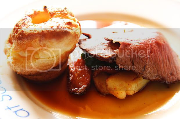The Swan at Southrop,The Cotswolds,Rump Roast