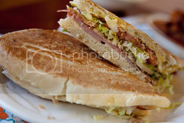 La Teresita Restaurant,Tampa,Cuban Sandwich